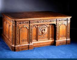 White house oval office desk Secret Service The Resolute Desk Gift From Queen Victoria Is One Of The Bestknown Objects In The White House Having Been Used By Many Presidents As Their Oval Office Scoopnestcom The Resolute Desk Gift From Queen Victoria Is One Of The Best