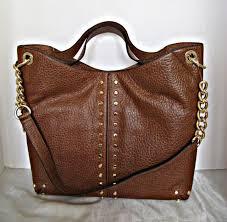 michael kors uptown astor large brown leather shoulder tote 38h8guae3l