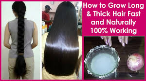 How To Grow Long And Thick Hair Fast And Naturally 100 Works