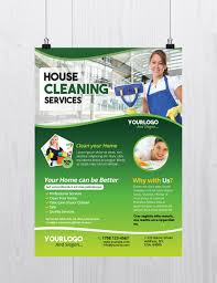 Cleaning Services Download Free Psd Flyer Template Free