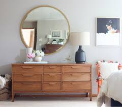 master bedroom makeover mid century modern
