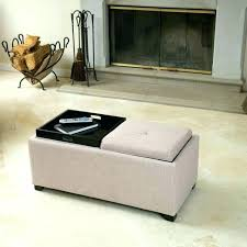 fabric top coffee table medium size of recliner table tray flip tray ottoman tufted top coffee