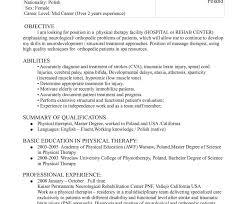 Occupational Therapy Resume Template Unique Occupational Therapy Cv Gotta Yotti Co Sample Resume 48 Bold Idea