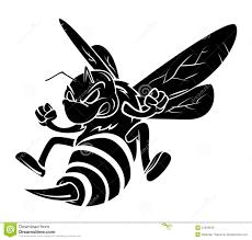 татуировка пчелы иллюстрация вектора иллюстрации насчитывающей
