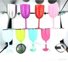 colored plastic wine glasses es colored plastic wine glasses bulk plastic wine glasses with colored stems
