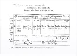 Looking For Information On The Ward Divers Carr Families Ireland