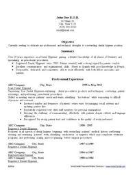 Dental Resume Writing Service | Ihiredental