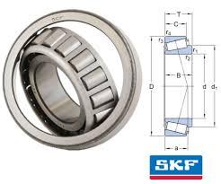 30213j2 Q Skf Tapered Roller Bearing 65x120x24 75mm Taper