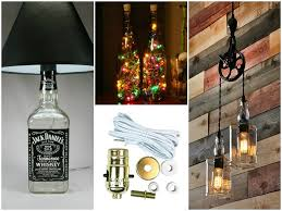 Wine Bottle Lamp Diy Diy Bottle Lamp Make A Table Lamp With Recycled Bottles Id Lights