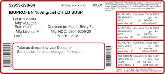 Ibuprofen Suspension H J Harkins Company Inc