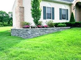 retaining wall landscape ideas front yard landscaping walls small ch