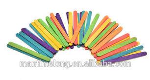 50pcs Wooden Lollipop Popsicle Sticks Party Kids Crafts Ice Cream
