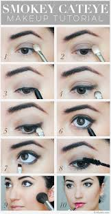 how to do a cateye smokey cateye makeup tutorial smokey eye rockstar makeup