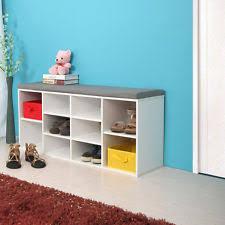 prepac ashley shoe storage bench white. white shoe bench fabric wood rack storage organizer prepac ashley