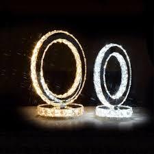 Us 5488 31 Offtisch Lampe Kristall Lampen Moderne Kreis Led Schreibtisch Lampara Beleuchtung Nacht Escritorio Bureau Lampe Runde Dekoration Licht