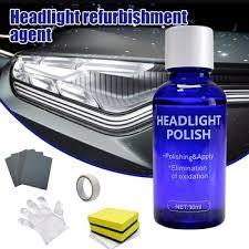 New 30ML Car Headlight Lamp Scratch Restoration Polish Repair ...