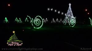 A Fascinating Christmas Light Show Synced To Luke Bryans