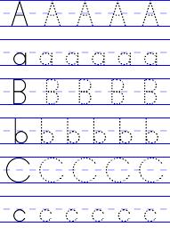 Tracing Alphabet ABC   Kiddo Shelter