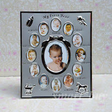 baby collage frame first year newborn baby collage 12 month photo frame shower gift