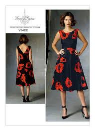 Vogue Dress Patterns Simple V48 Misses'Misses' Petite BackV Dress Sewing Pattern Vogue