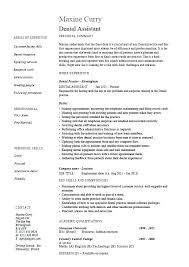 Dental Assistant Resume Examples Stunning Oral Surgery Dental Assistant Resume Veterinary Examples Related