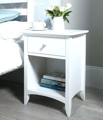 small white bedside table. Perfect Table White Bedroom Side Tables Small Bedside Table Best  Cabinets Ideas On In   In Small White Bedside Table L
