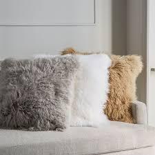 mongolian fur pillow. Brilliant Mongolian In Mongolian Fur Pillow I