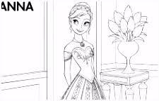 7 Kleurplaten Frozen Anna En Elsa Sampletemplatex1234