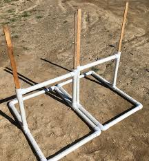 to use them just staple some s cardboard across you can use another wooden slat to support it if winds require then staple your targets on and have