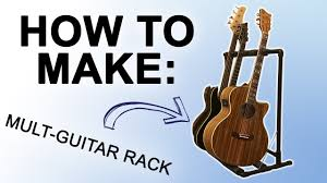 how to make 20 pvc multi guitar rack