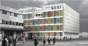 office building facade. Project Status Competition By Invitation. Client Salvatore Ferragamo S.p.a.. Facade Surface 2.500 M2. Building Cost 2.000.000 Euro Office I