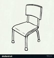 school chair clipart black and white. Modren White The Images Collection Of View Amazoncom School Chair Side Intended Clipart Black And White