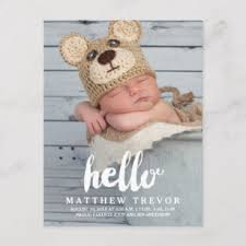 baby postcard baby announcement postcards zazzle au