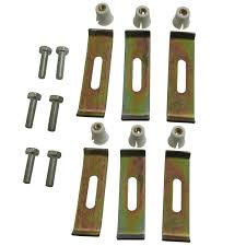 Elements Of Design Euhdwr6 Undermount Clip 6 Clips Pack Elements