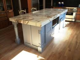 Vintage Kitchen Design With Lowes Kitchen Island Legs, Stainless Steel Stove  Oven, And Marble