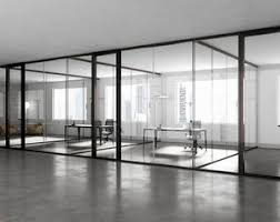 wooden office partitions. Fixed Partition / Aluminum Wooden Glazed Office Partitions E
