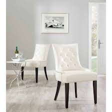 white leather dining room chairs beautiful magnificent dining room side chairs table and leather white chair