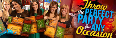 bachelorette party ideas painting parties and private events paint and sip franchise painting