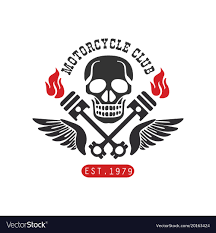 1979 Design Motorcycle Club Logo Est 1979 Design Element For