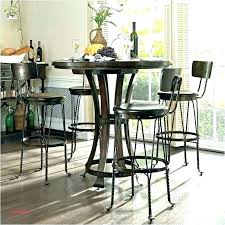 glass bistro table pub dining set and chairs small round