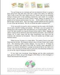 Letter To Oceans Eleven Casino Partner