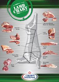 Cuts Of Lamb Chart How To Cut Meat Lamb Pork Beef Charts Crown National