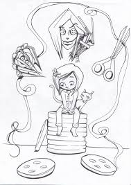 Coraline Coloring Pages - akma.me