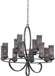 kalco 7535 delancy 12 light 2 tier chandelier