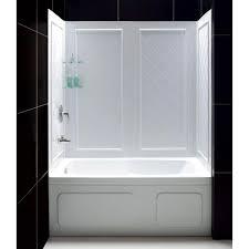 2 piece bathtub surround