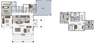 durham 5 bedroom 2 y house plan landmark homes builders nz