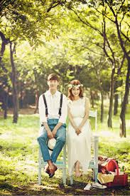 Pre Wedding Photo Shoot In Korea With Cherry Blossom Cherry