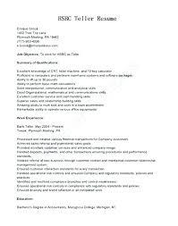 Resume Cover Letter For Entry Level Position Entry Level Bank Teller Resume Entry Level Bank Teller Resume Cover