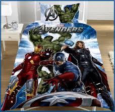 Image of: Avenger Hulk Bedding Set
