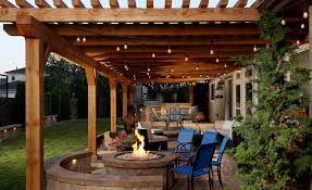 if you want a middle ground between indoor and outdoor living think about adding a pergola image yardscapes northwest